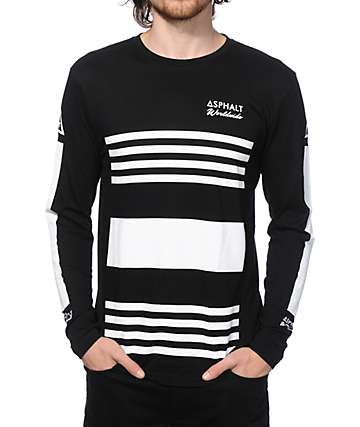 Asphalt Yacht Club Worldwide Long Sleeve T-Shirt