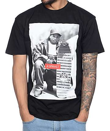 Asphalt Yacht Club x Eazy E x Mike Miller Eazy Does It Black T-Shirt