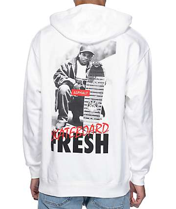 Asphalt Yacht Club x Eazy E x Mike Miller Eazy Does It White Hoodie