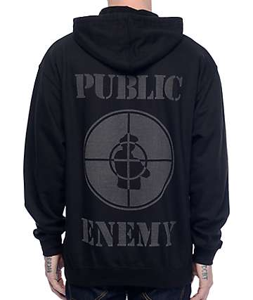 Asphalt Yacht Club x Public Enemy Black Hoodie
