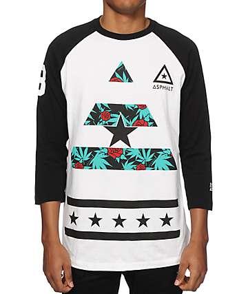 Asphalt Yacht Club x Snoop Dogg Sweet Kush Delta Baseball T-Shirt