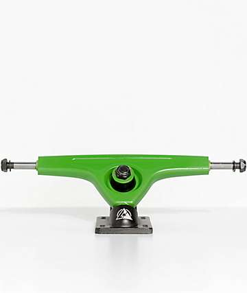 Atlas Ultralight 180mm Brilliant Green & Black Longboard Truck