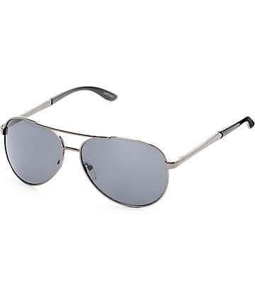 Aviator Captain gafas de sol negras
