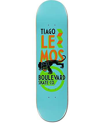 "BLVD Lemos Icon 8.0"" Skateboard Deck"