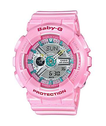 Baby-G BA110CA-4A Neo Pastel Pink Watch