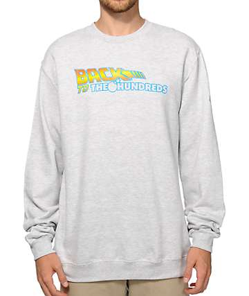 Back To The Hundreds Crew Neck Sweatshirt