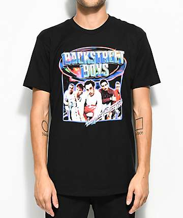 Backstreet Boys Larger Than Life Black T-Shirt