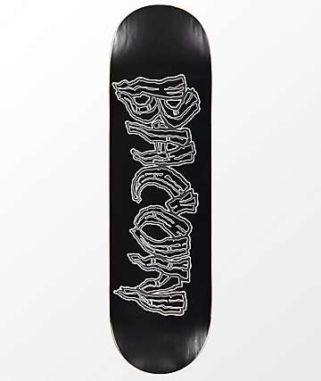 "Bacon Logo Grey 9.0"" Skateboard Deck"