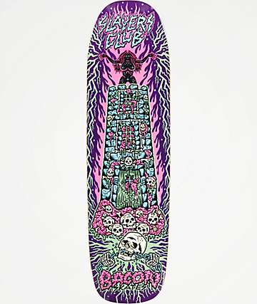 "Bacon Skateboards Slayers Club Tallboy 8.75"" Skateboard Deck"