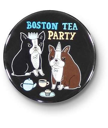Badge Bomb Boston Tea Party Big Magnet