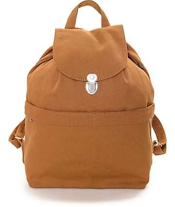 Baggu Chestnut Canvas Backpack