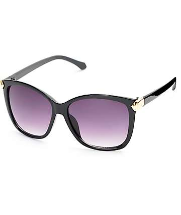 Bailey Oversized Black Sunglasses