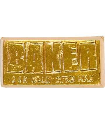 Baker 24K Gold cera del bordillo de skateboard