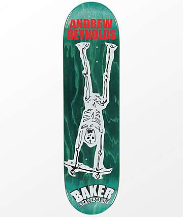 "Baker AR From The Grave 8.25"" Skateboard Deck"