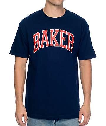 Baker Blitz Navy T-Shirt