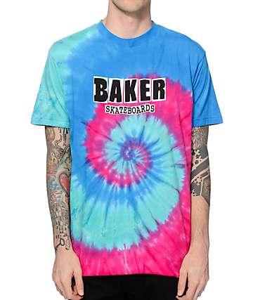 Baker Brand Logo Tie Dye T-Shirt
