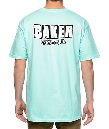 Baker Branded Logo Mint T-Shirt