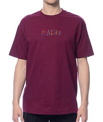 Baker Childs Play Burgundy T-Shirt