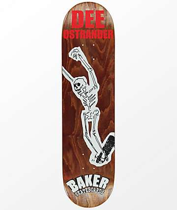 "Baker DO From The Grave 8.0"" Skateboard Deck"