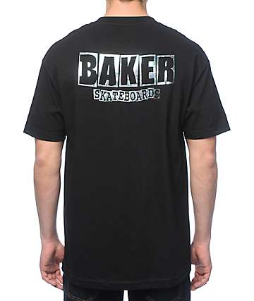 Baker Dubs Holographic Black T-Shirt