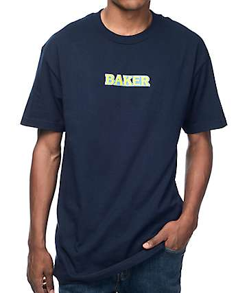 Baker Fighter Navy T-Shirt