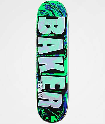 "Baker Herman Abstract 8.0"" Skateboard Deck"