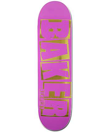 "Baker Kennedy Brand Name 8.25"" Skateboard Deck"
