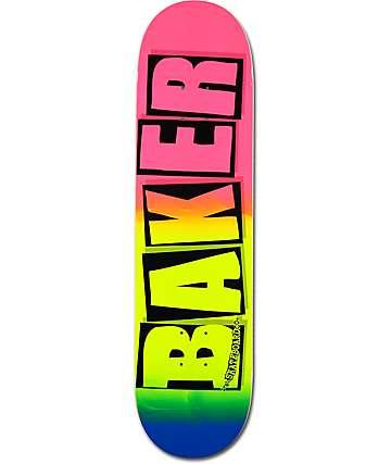 """Baker Logo Snipe 8.0"""" Skateboard Deck"""