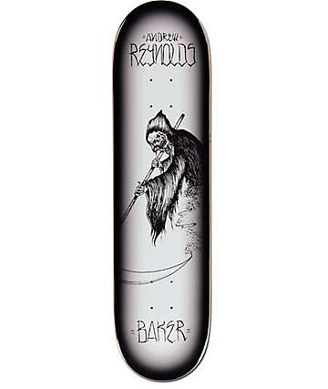 "Baker Reynolds Reaper 8.0"" Skateboard Deck"
