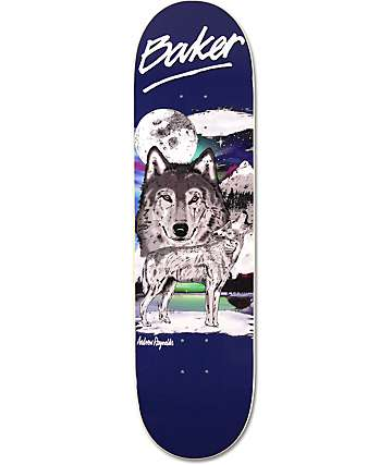 "Baker Reynolds Wildlife 8.25""  Skateboard Deck"
