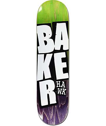 "Baker Riley Stacked Name 8.12"" Skateboard Deck"