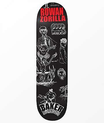 "Baker Rowan Good Days 8.38"" Skateboard Deck"