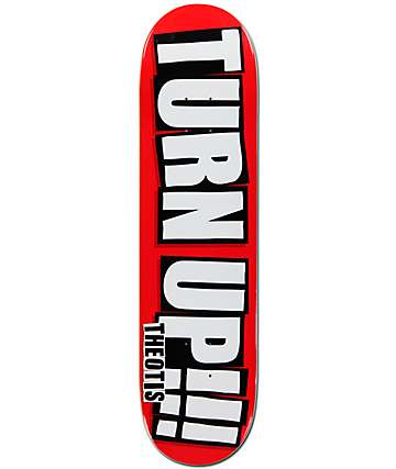 "Baker Theotis Turn Up 8.0"" Skateboard Deck"