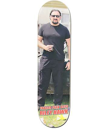 "Baker x Trailer Park Boys Julian Hawk 8.0"" Skateboard Deck"