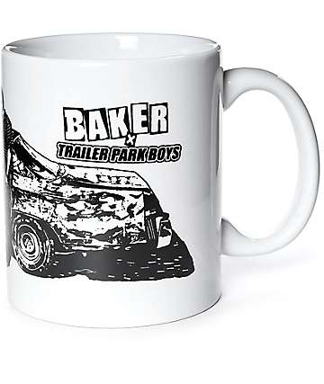 Baker x Trailer Park Boys White Mug