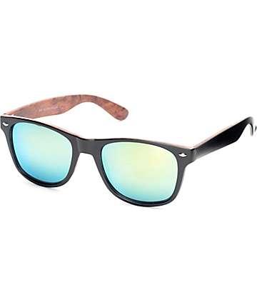 Bali Black & Yellow Classic Sunglasses