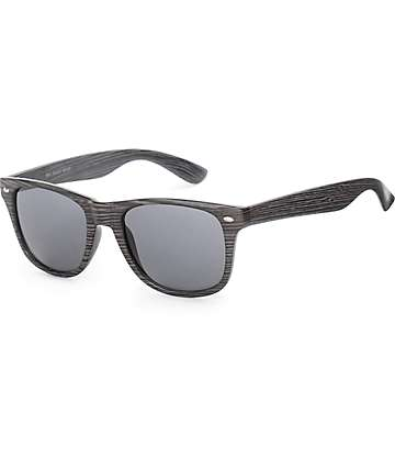 Bali Black Wood Sunglasses