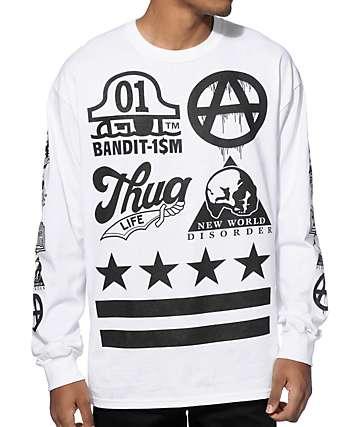 Bandit-1$M New Wild Order Long Sleeve T-Shirt
