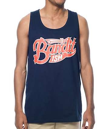Bandit-1$M Saber Navy Tank Top