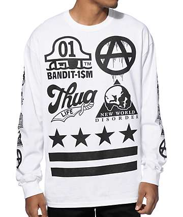 Bandit-1SM New Wild Order Long Sleeve T-Shirt