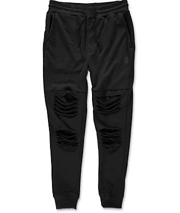 Basic Math Black Jogger Pants