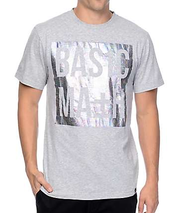 Basic Math Iridescent Grey T-Shirt