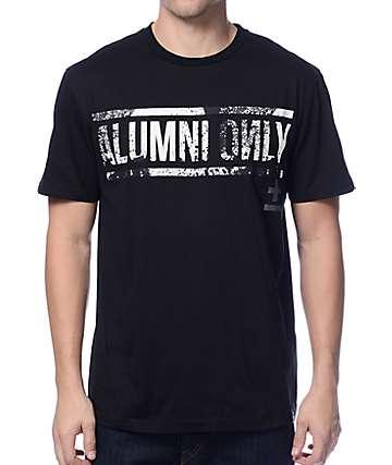 Basic Math Splatter Cross Black T-Shirt