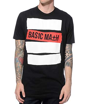 Basic Math Stripe T-Shirt