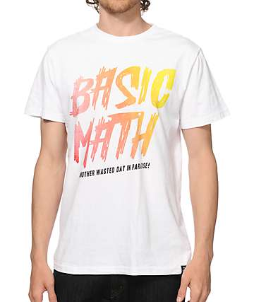 Basic Math Tropic Wasteland T-Shirt