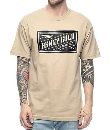 Benny Gold Classic Stamp Sand T-Shirt