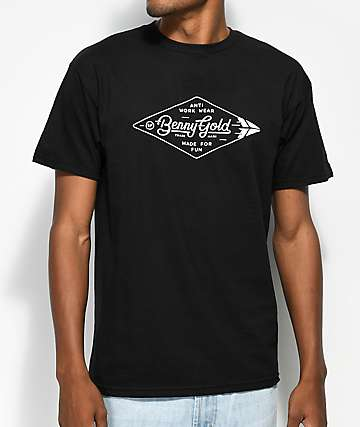 Benny Gold Diamond Label Black T-Shirt