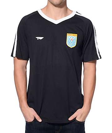 Benny Gold Eagle Black Soccer Jersey T-Shirt