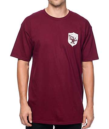 Benny Gold Forged In Flight Maroon T-Shirt