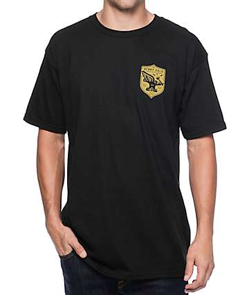 Benny Gold Froged In Flight Black T-Shirt